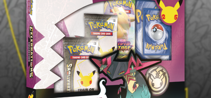 Pokémon Trading Card Game: Celebrations collection – Out Now!