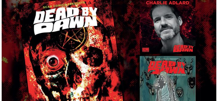 Dead By Dawn Comic Signing with Charlie Adlard