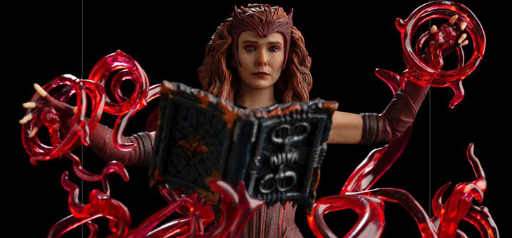 WandaVision Deluxe Art Scale Statue 1/10 Scarlet Witch 24 cm